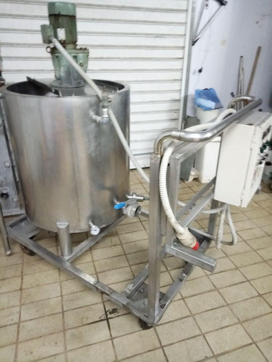 παστεριωτής γάλακτος 200 λίτρων μεταχειρισμένος